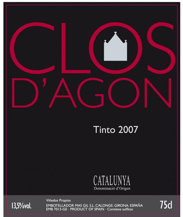 Clos d'Agon tinto 2007