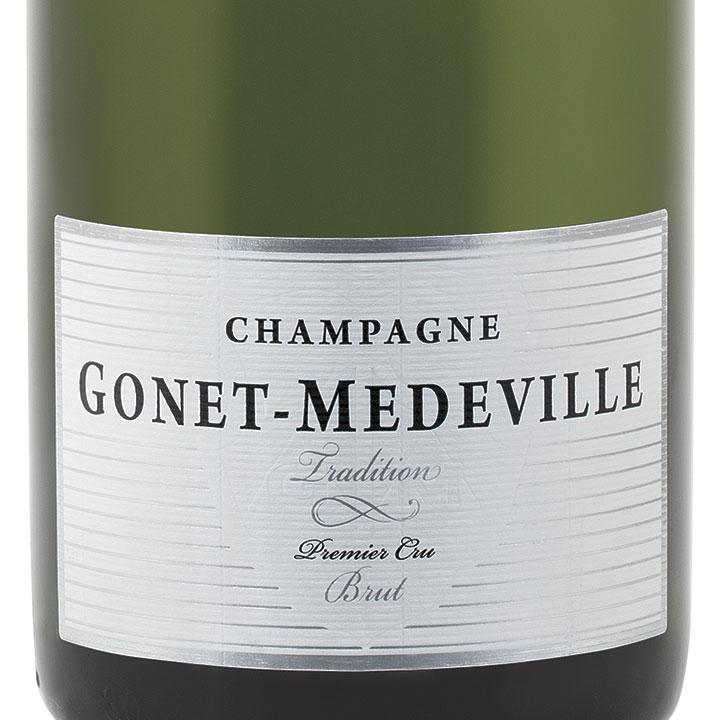 Gonet-Medeville-Tradition-1-Er-Cru-Brut-Champagne-Label